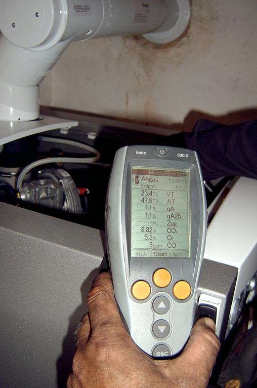 Beratung und Messungen
